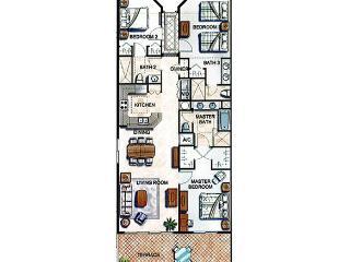 Reunion Resort - Town Home 3BD/3BA - Sleeps 6 - Platinum - RRU325 - Davenport vacation rentals