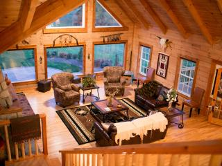 Luxury Log Home on Bison Ranch - Kingsville vacation rentals