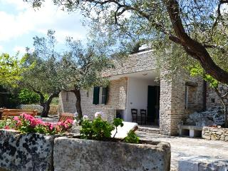 VILLETTA SCALAMASCIU clad in stone sea view - Corsano vacation rentals
