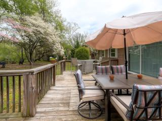 Watauga River Getaway- 4BR Elizabethton Home w/Over 300ft of Private River Frontage On Certified Trout River - Near Bristol Nascar Speedway-Minutes From Watauga Lake - Elizabethton vacation rentals