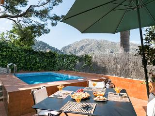 Townhouse in Pollensa up 6 people with pool and stunning views to Tramuntana mountains - HM010GRE - Pollenca vacation rentals