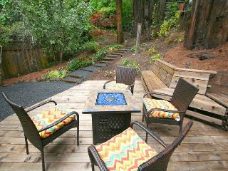 """""""Mystic Cottage""""Soaring views,hot tub,Near River/Ocean/Vinyards 3 for 2! - Monte Rio vacation rentals"""