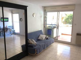 Nice+ big 3* Studio in Bandol w/ beautiful terrace - Bandol vacation rentals