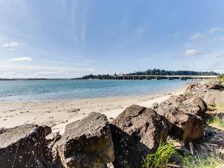 Creative, one-of-a-kind bayfront beach house w/bridge views! - Waldport vacation rentals