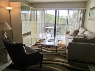 Views of the Pool and out to the Bay from this Cozy Condo! - Marco Island vacation rentals