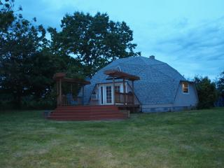 Dome house on 30 acre vineyard private elec. gate - Yamhill vacation rentals