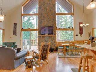 Home w/ mountain views, chef's kitchen, private hot tub! - Government Camp vacation rentals