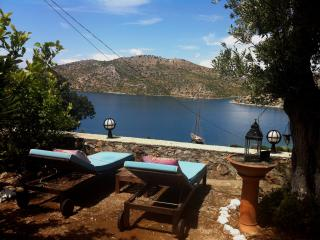 Stunning sea view, secluded location, pool & boat - Bozburun vacation rentals