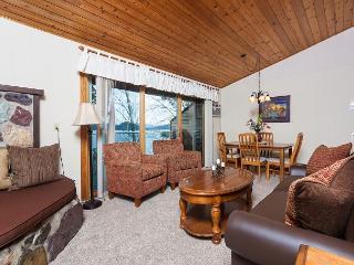 Cozy Condominium with Deck Overlooking Whitefish Lake - Whitefish vacation rentals