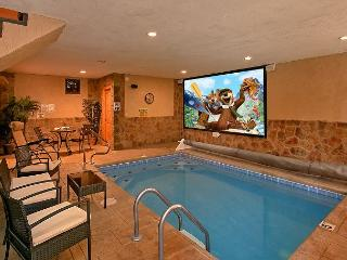 Amazing Cabin with Private Indoor Pool, Pool Theater and outdoor Fire Pit! - Sevierville vacation rentals
