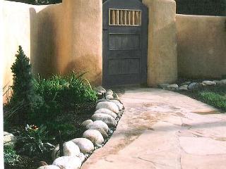 Casa Azul 1 - fireplace enclosed yard walk to town - Taos vacation rentals