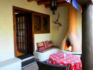 Historic Taos adobe walk to town kiva fireplace DSL internet fenced yard - Taos vacation rentals