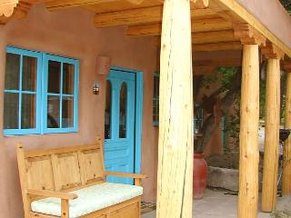 Casa Encantada 1  Enclosed Yard Hot Tub Walk to Plaza Kiva Fireplace - Taos vacation rentals