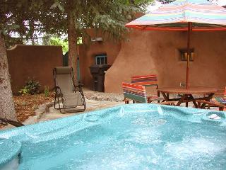 Casa Encantada 1  Enclosed Yard Hot Tub Walk to Plaza Kiva Fireplace - Taos vacation rentals