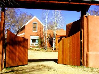 Fully enclosed 1 acre, mountain view, private setting surrounded by trees - Taos vacation rentals