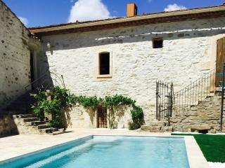 Superb village barn conversion with pool - Ginestas vacation rentals