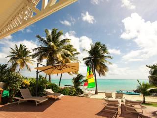 Luxury villa feet in the water Guadeloupe spa pool - Saint-François vacation rentals