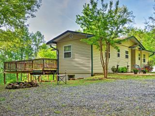 Peaceful 3BR Hiawassee Cabin w/Wifi, Private Wraparound Deck & Outdoor Firepit - Just 10 Minutes from Town! Easy Access to Countless Outdoor Activities! - Hiawassee vacation rentals