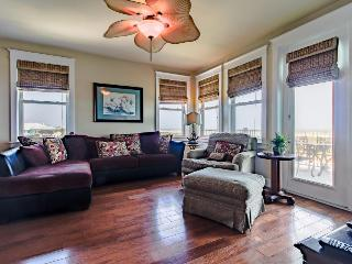 Dog friendly, oceanside condo next to beach with shared pools/hot tub! - Galveston vacation rentals