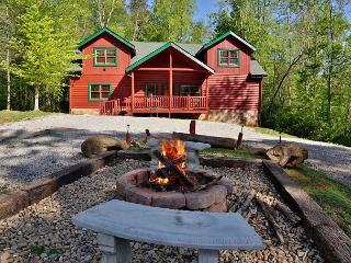 Enjoy a family getaway or retreat in a cabin named, Poolin' Around! - Cosby vacation rentals