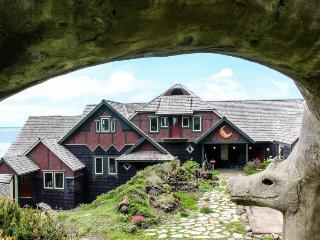 Dog-friendly, oceanfront storybook home w/ private hot tub! - Yachats vacation rentals