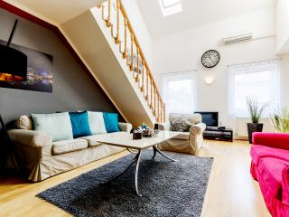 135 sqm 4 br A/C Wi-Fi Apartment next to Nyugati - Budapest vacation rentals