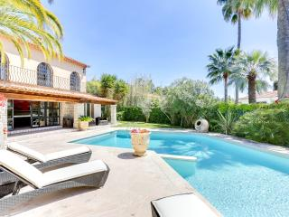 Excellent Palm Spring Villa in Cannes with Fireplace and Terrace - Cannes vacation rentals