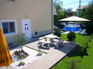 Nice Condo with Towels Provided and Grill - Jadranovo vacation rentals