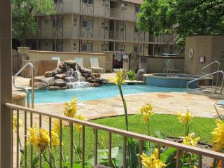 POOLSIDE PARADISE! Waterwheel Luxury River Condo - New Braunfels vacation rentals