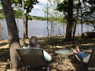 Guest Cabin with Private Lakefront - Just Listed! - Ridgedale vacation rentals