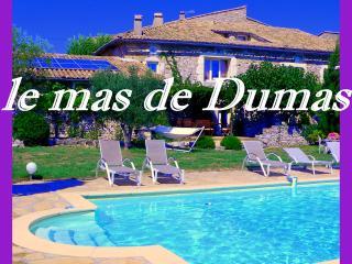 LE MAS DE DUMAS - Gites et chambres d'hotes - Gras vacation rentals