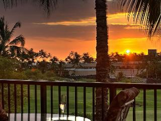 Stargazing Solitude | Penthouse | Large Sundeck Lanai- BBQ | Sunset Golf View - Waikoloa vacation rentals