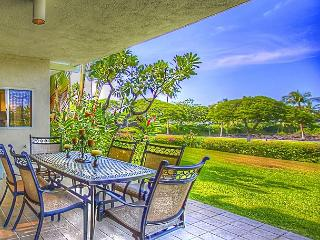 Gorgeous A103 P Ocean View - 2 Ensuites- Walk to Beach/Shops- Lanai w/ BBQ - Waikoloa vacation rentals