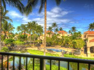 """Awesome Stay"" Huge Lanai w/BBQ Overlooking Koi Pond/Pool- Walk to Beach - Waikoloa vacation rentals"