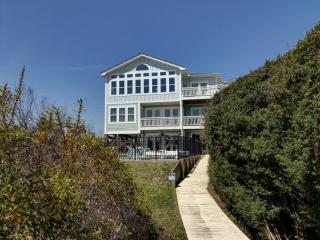 Bright 5 bedroom Holden Beach House with Deck - Holden Beach vacation rentals