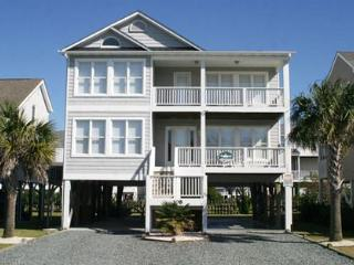 Bright 4 bedroom House in Holden Beach with A/C - Holden Beach vacation rentals
