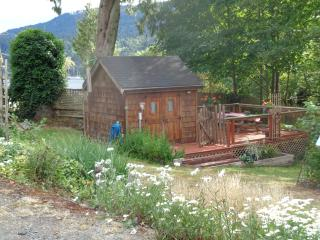 Cozy 1 bedroom Salt Spring Island Cabin with Deck - Salt Spring Island vacation rentals