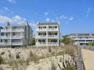 Lovely oceanfront townhouse with great views from the deck! - Fenwick Island vacation rentals