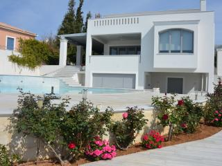 Porto Heli  - Gv - The Cristallo Villa with pool and seaviews in  ultra modern style - Kosta vacation rentals