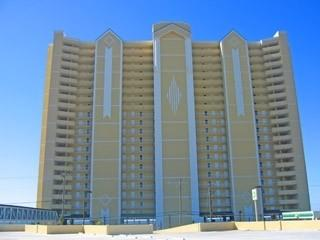 Front View Of Emerald Isle Oceanfront Condo - EMERALD ISLE NEAR PIER PARK ! - Panama City Beach - rentals