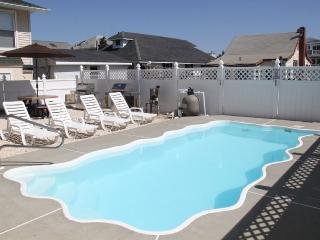 Modern! Steps to the Beach - HEATED POOL, VIEWS! - Ship Bottom vacation rentals
