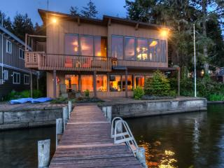 Brannholm Lakefront Home with Dock-Pet Friendly - Lincoln City vacation rentals