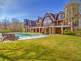 New Listing! 7BR Sag Harbor Estate w/Wifi & Great Private Amenities - Pool, Hot tub, Fitness Center, Game Room & Tennis Court! 8 Acre Property - Just 5 Minutes from the Ocean! - Sag Harbor vacation rentals