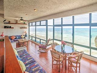 New Listing! Vibrant 2BR Akumal Condo w/Wifi, Private Beach Access & Breathtaking Views of Half Moon Bay - Within Walking Distance of Stunning Yal-Ku Lagoon! - Akumal vacation rentals