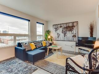 Dog-friendly Capitol Hill condo with city views, a shared roof deck & gym! - Seattle vacation rentals