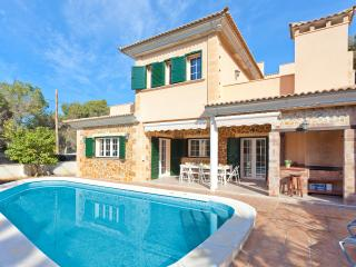 Fantastic villa with 6 rooms with private pool - El Arenal vacation rentals