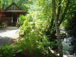 Cabin On Babbling Creek with Hot Tub, WiFi! Lower Summer Rates Available! - Todd vacation rentals
