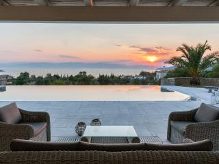 Porto Heli -  Villa  Mimosa a beautiful a a beautiful villa with 5 bedrooms and pool near to beach - - Thermisia vacation rentals