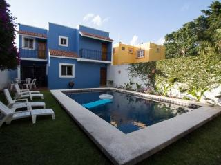 Hacienda Azul - Giant Pool&Garden, Quiet Street, Rustic Mexican - Cozumel vacation rentals