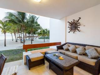 Casa Colorado (5130) - Step off the Terrace and Right onto the Sand - Cozumel vacation rentals